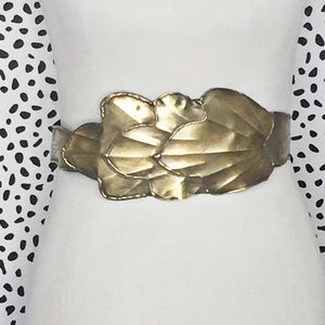 Vintage Artisan Made Brass Belt